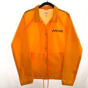 VANS Women's Thanks Coach Jacket Yellow